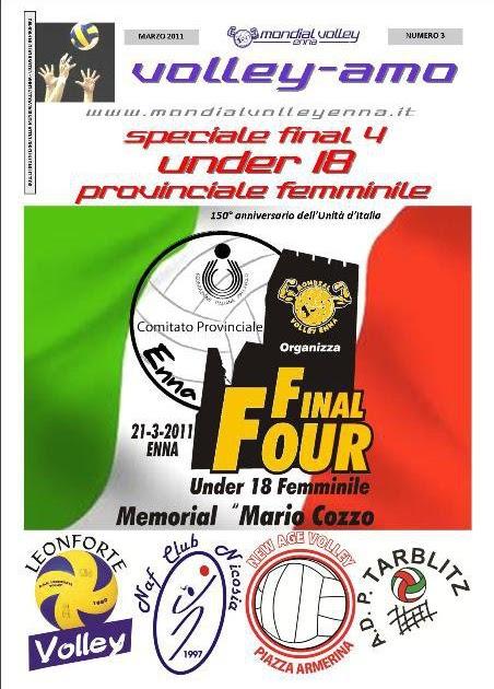 Volley final four provinciale u18 la polisportiva for Miceli arredamenti