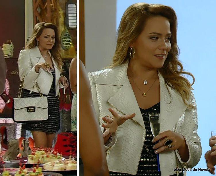moda da novela Em Família - look da Shirley dia 3 de junho