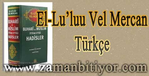 El Lu'luu Vel Mercan Türkçe Hadis Kitabı İndir