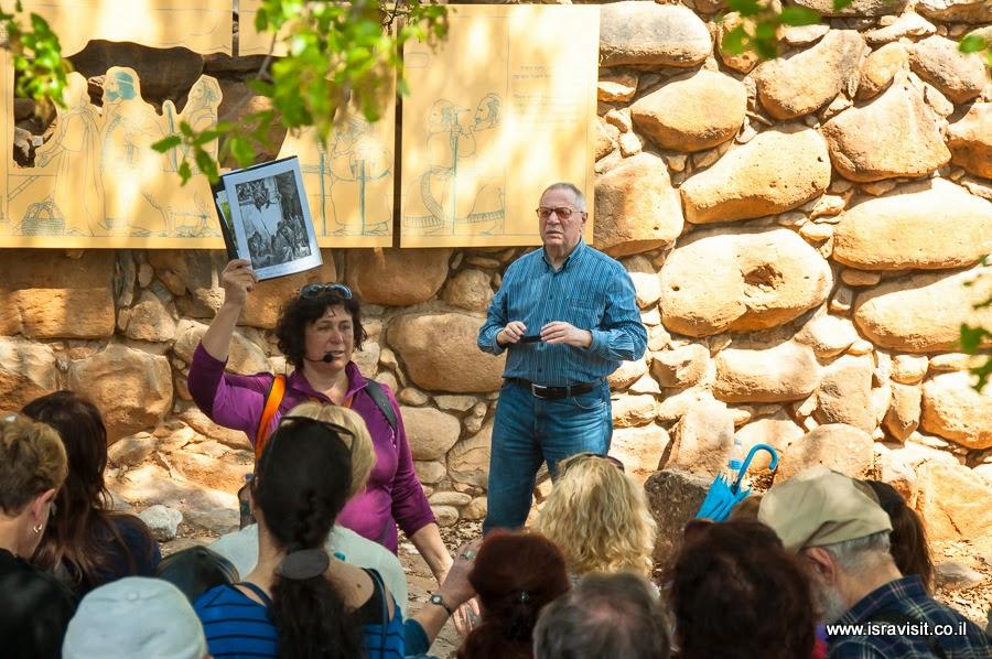 Экскурсия в древнем городе Тель Дан. Гид в Израиле Светлана Фиалкова.