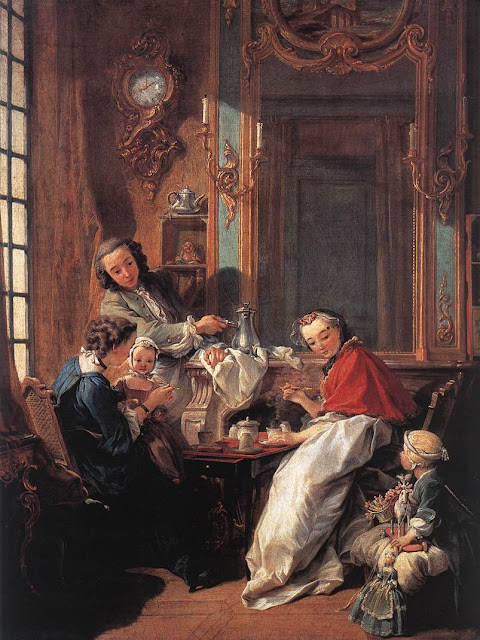 Francois Boucher - The Breakfast