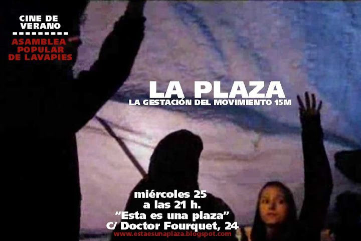 Cartel cineforum: La plaza