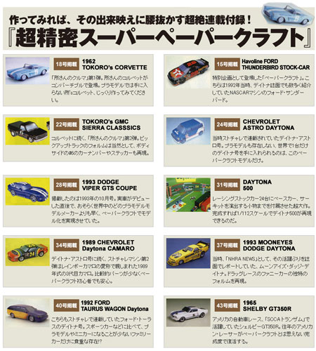 American Cars Papercraft Bonanza