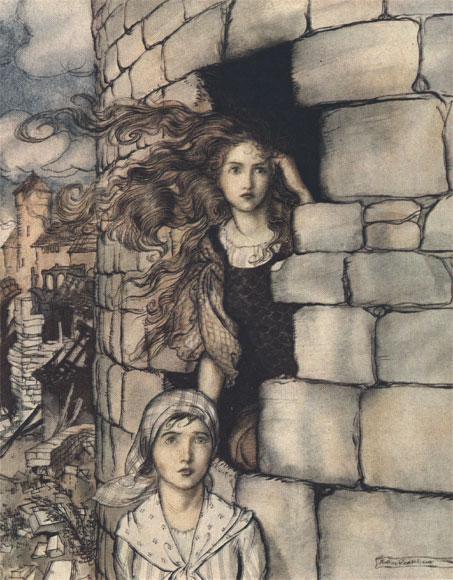 Maid Maleem by Arthur Rackman