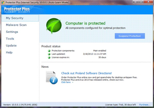 Protector Plus Internet Security