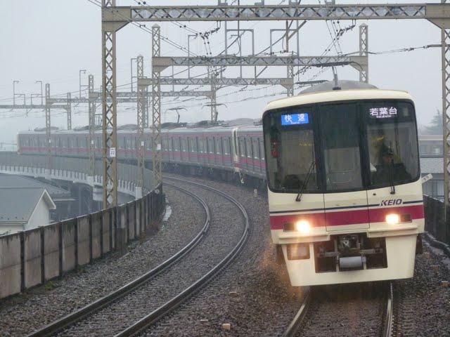 京王電鉄 快速 若葉台行き 8000系(節電ダイヤに伴う運行)