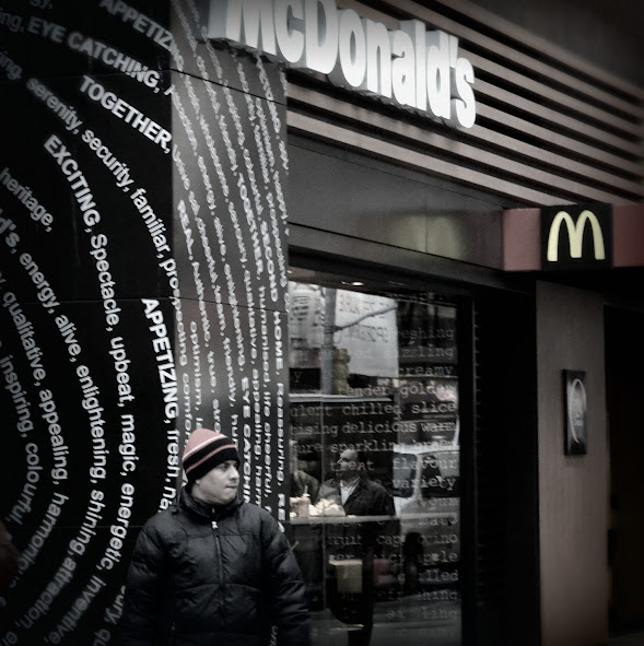 A McDonald's in New York City, photo/ps