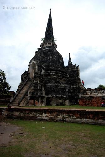 Ayutthaya historical garden - Thailand