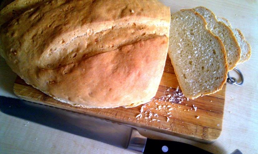szybki chleb pszenny bez maszyny