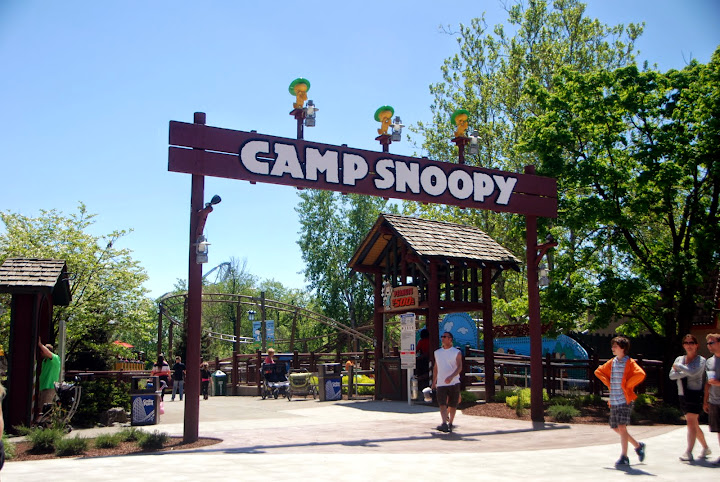 Camp Snoopy. From The Complete Guide to Visiting Cedar Point