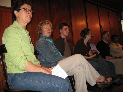gesprekspanel met Anneke Vankelecom en Geert Stevens (Terlostraat)