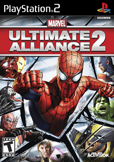 Marvel: Ultimate Alliance 2 (PS2/RUS/2009)