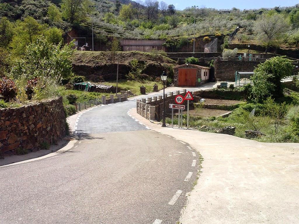 Puente sobre el río Árrago