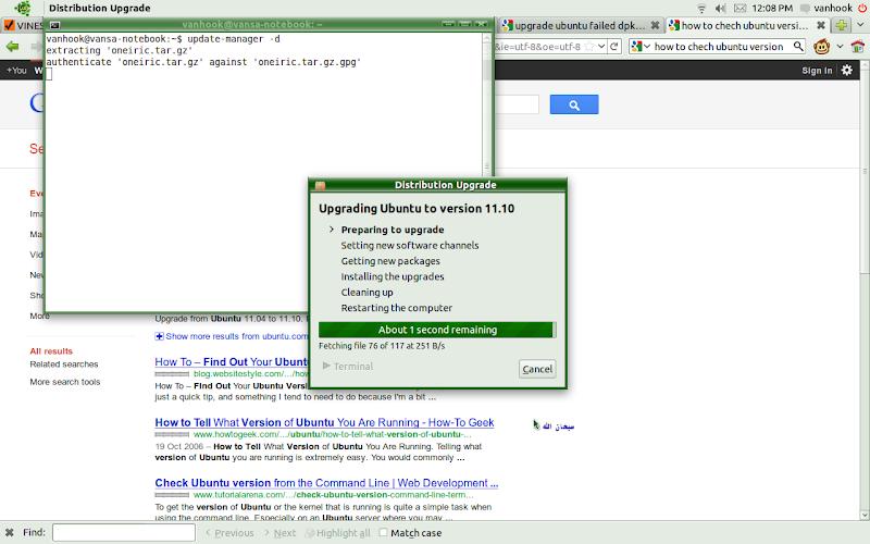 Upgrade ubuntu 11.04 ke ubuntu 11.10