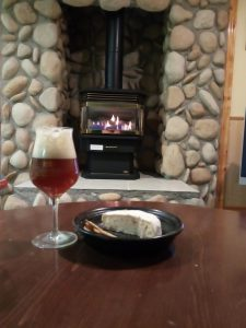 Changing Seasons Bed and Breakfast craft beer and cheese