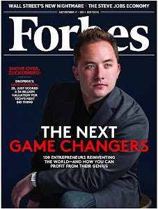 Forbes Nov 7, 2011 issue - Drew Houston