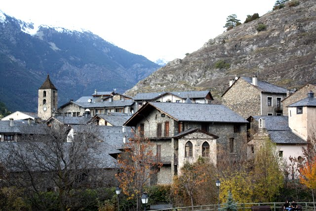 Ordino village in Andorra