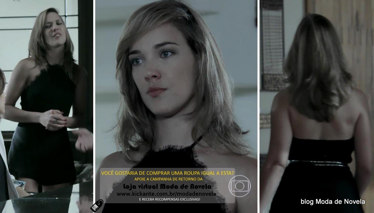 moda da novela Império, look da Amanda dia 3 de fevereiro de 2015