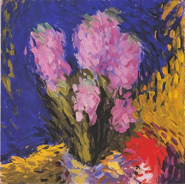 Koloman Moser - Hyacinths