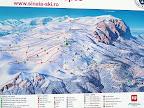 harta Sinaia piste de schi Cota 1400-Cota 2000