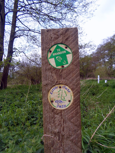 Little Ouse path marker
