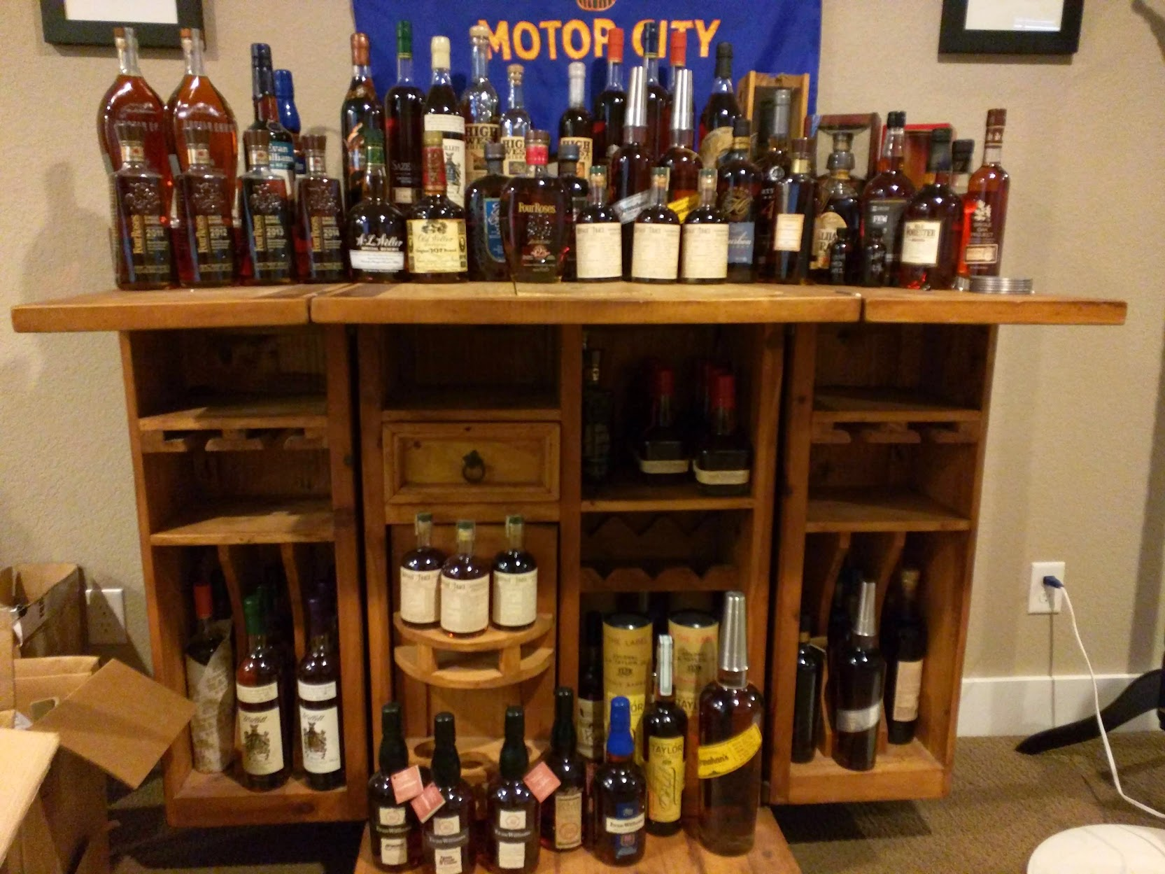 Ideas For Bourbon Shelving Storage Bourbon