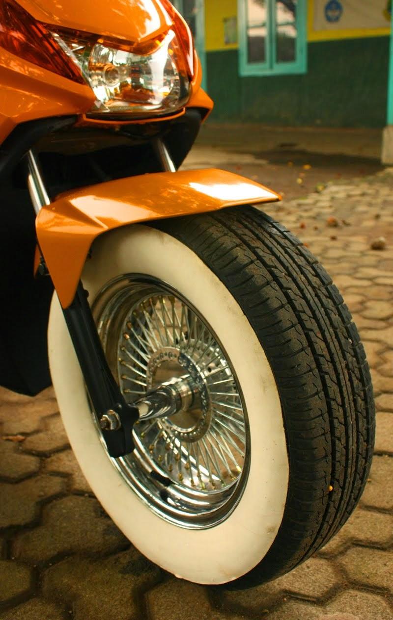 Foto Modifikasi Motor Honda Beat F1