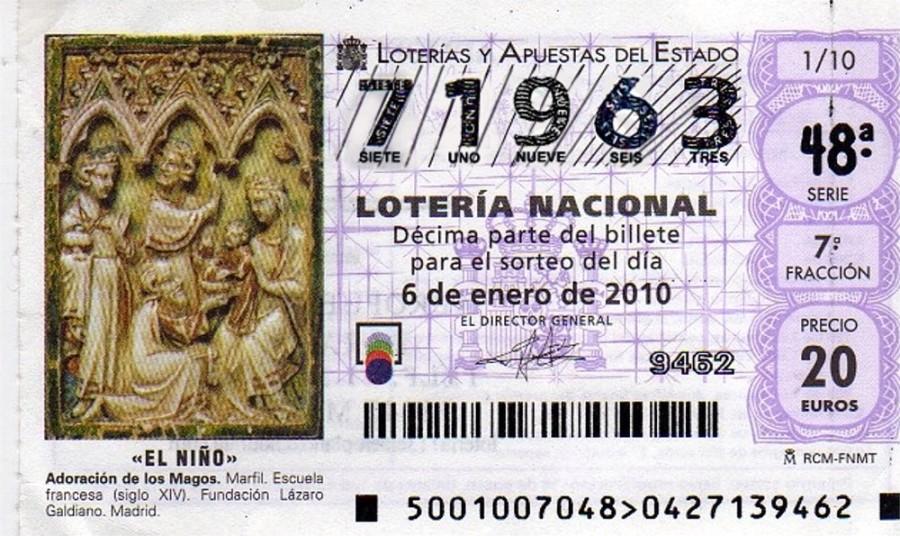 Lotería del Niño 2010