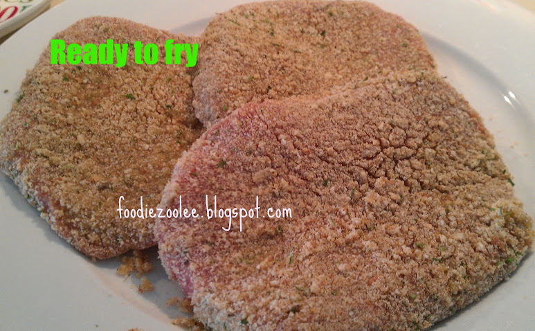 How to make breaded steak