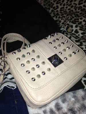 New Look Stud Handbag