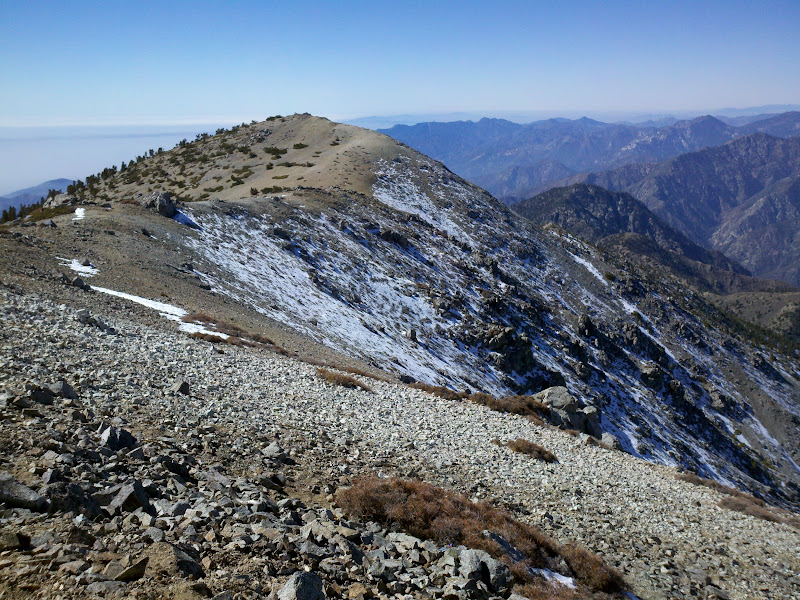 Mount Baldy • View of West Baldy