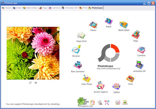 PhotoScape 3.6 (Full + Portable)