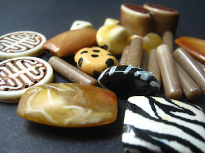 Savannah Acrylic Bead Set