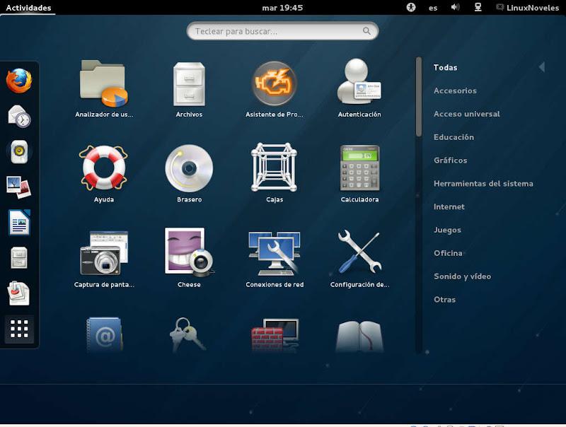 gnome3.6 Fedora 18 ya esta aquí con novedades