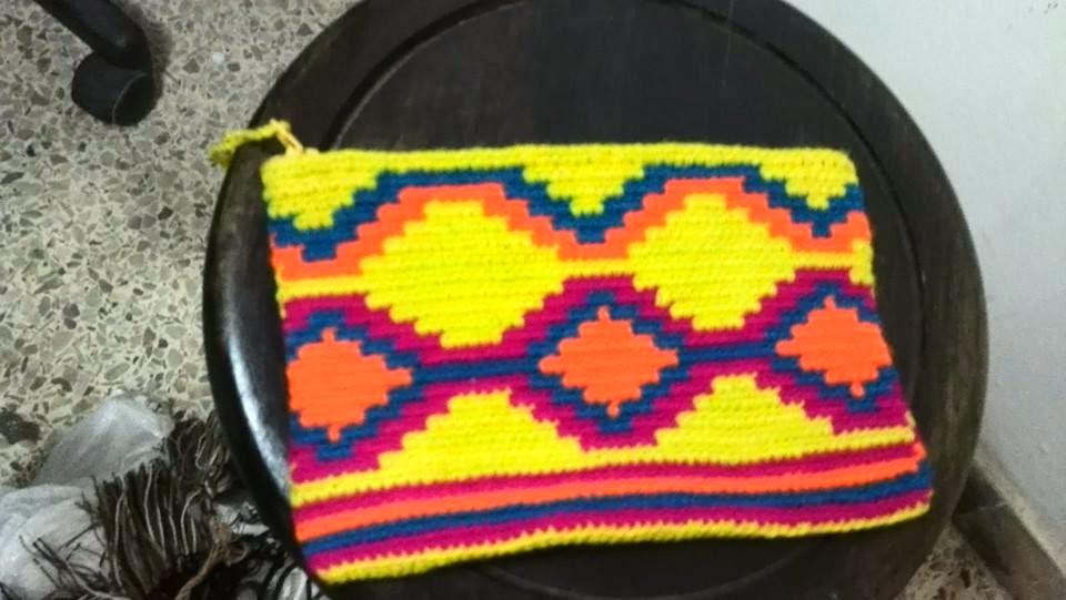 Cosmetiquera Cartera Wayuu Ref. 1