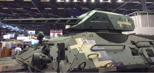 CMI CPWS Remote Turret on BTR4 Side View