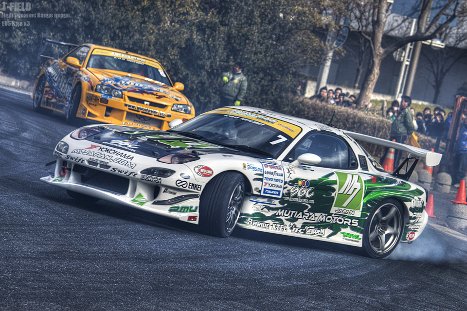 D1GP Kick Off Drift HDR