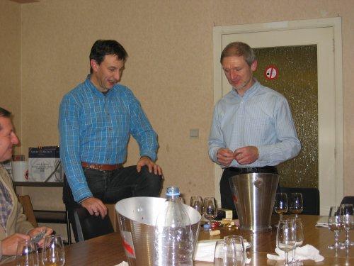 KWB Gooik & Strijland dankt Eric voor de boeiende avond en zijn verhelderende uitleg...