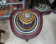Sombreros Vueltiaos 19 Vueltas Tricolor