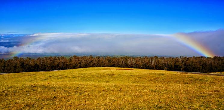 漫步流云彩虹间 - 穿行在哈雷阿卡拉之巅