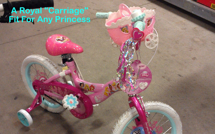 "This ""carriage"" would carry your princess in style!"