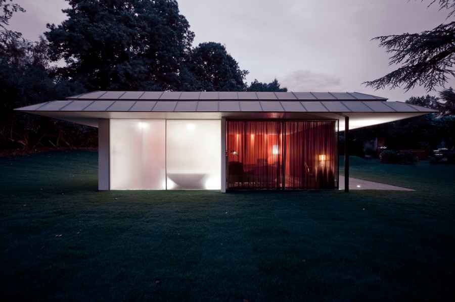 Capel Manor House Guest Pavilion, Kent, UK design by Ewan Cameron Architects