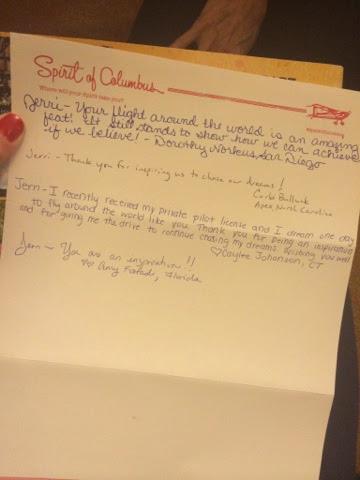 Letter to Jerrie Mock