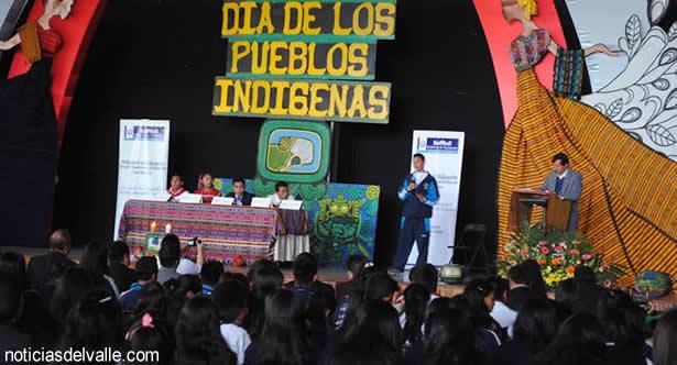 Conmemoran Dia Internacional de los Pueblos Indigenas