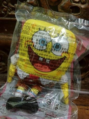 McDonald's SpongeBob SquarePants plush 2014