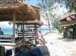 Gili Trawangan: plage nord