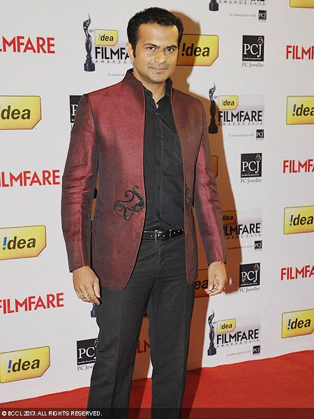Siddharth Kannan during the 58th Idea Filmfare Awards 2013, held at Yash Raj Films Studios in Mumbai.Click here for:<br />  58th Idea Filmfare Awards<br />