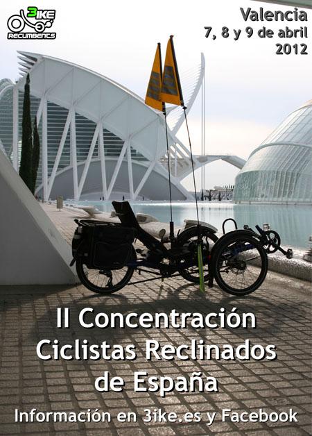 II Concentración de Ciclistas Reclinados de España
