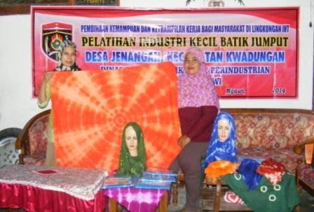 sentra industri batik jumput jawa timur