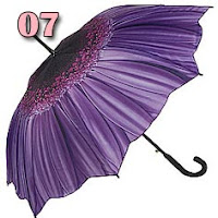 guarda-chuva de flor